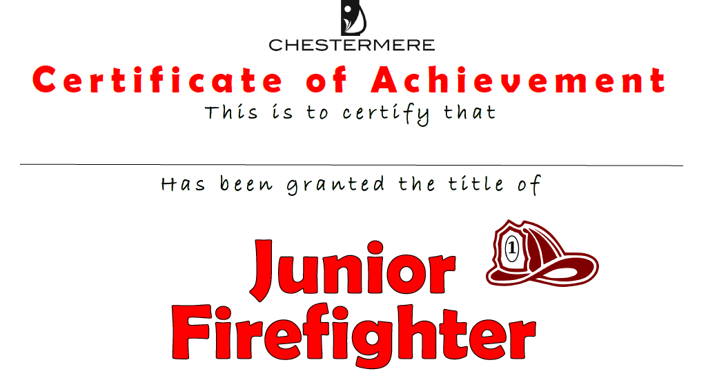 Jr Firefighter
