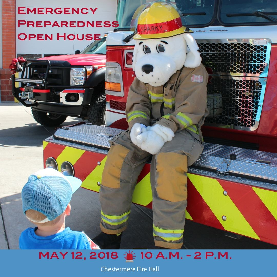 Emergency Preparedness Open House is May 12