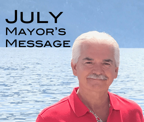 july mayors message