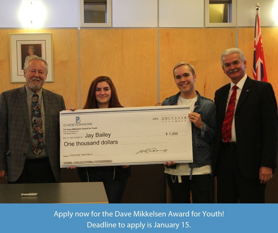 Dave Mikkelsen Award for Youth
