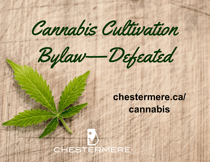 cultivation bylaw defeated