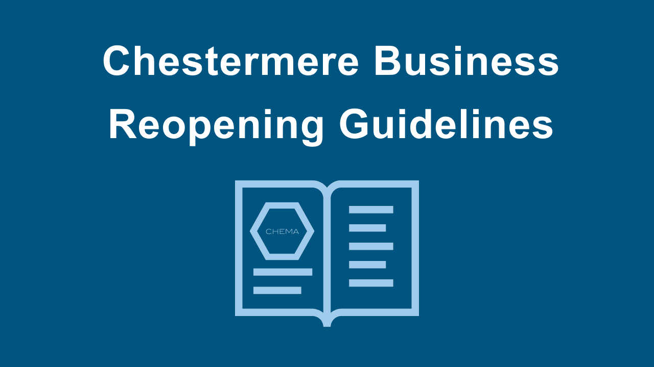 Chestermere Business Reopening Guidance