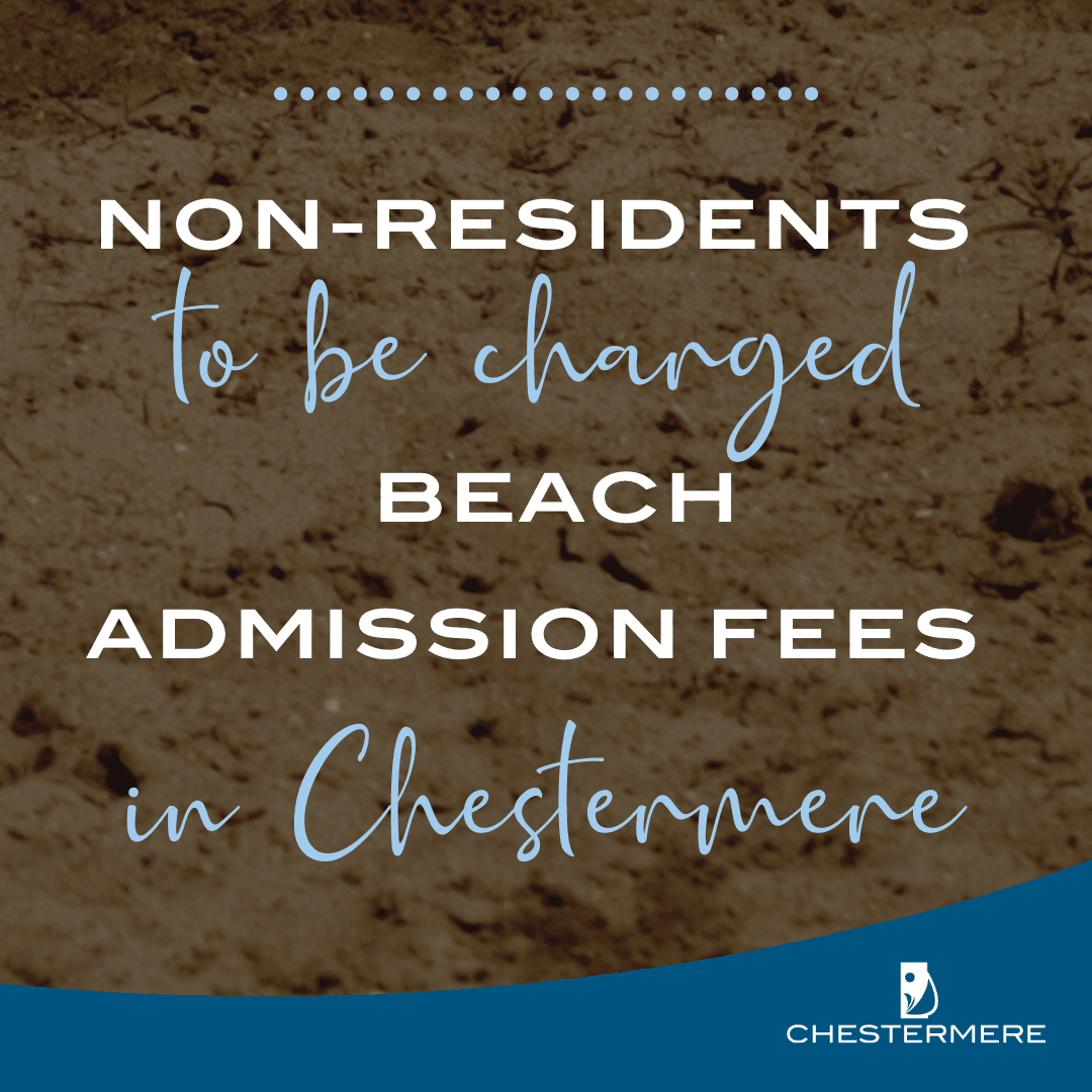 Beach Admission Fees Announcement