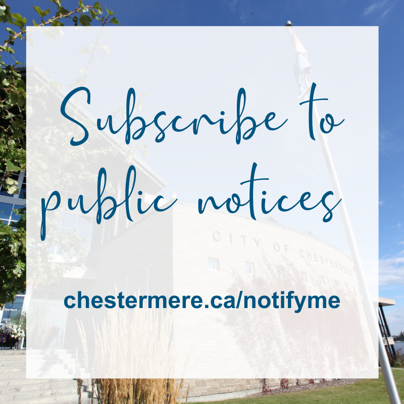 Subscribe to public notices