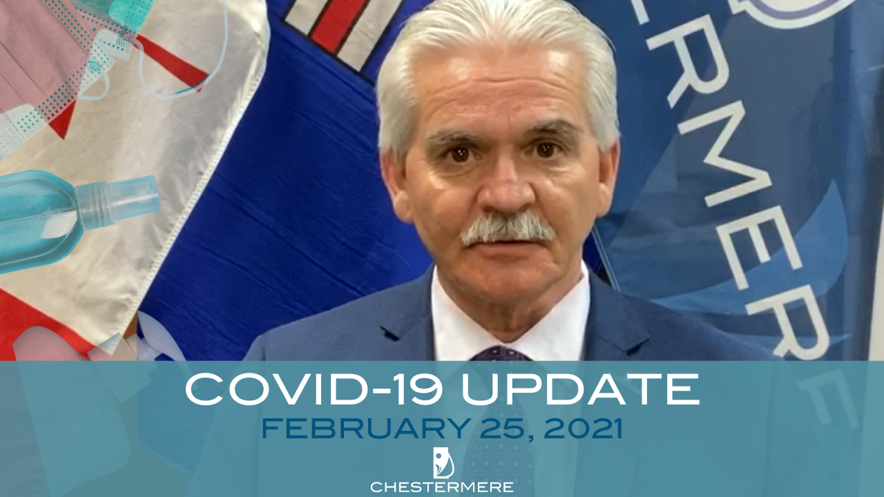 Mayors covid-19 video update Feb 25