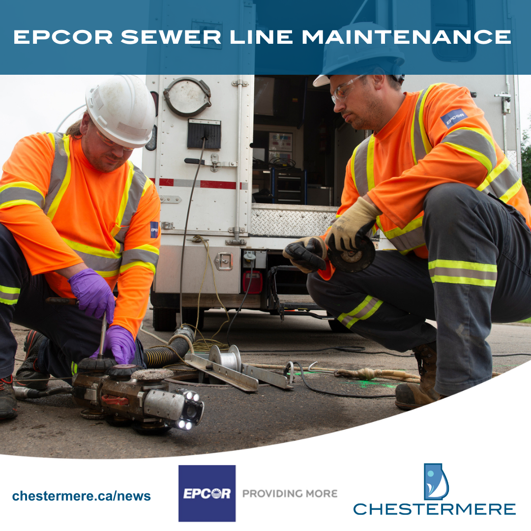 EPCOR sewer line inspection begins next week