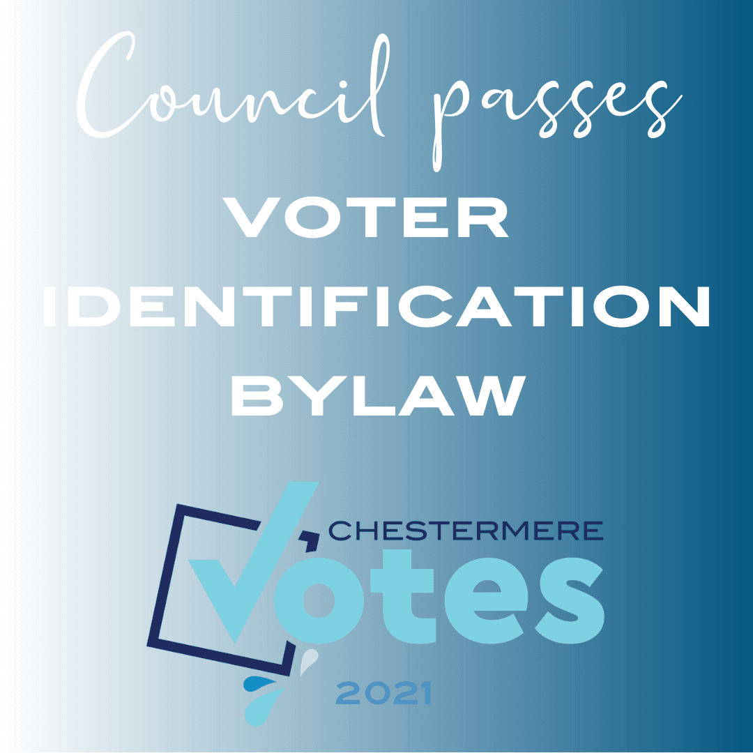 Voter ID bylaw passed by Council