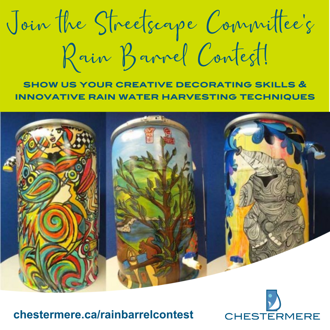 Rain Barrel Contest - Register now!