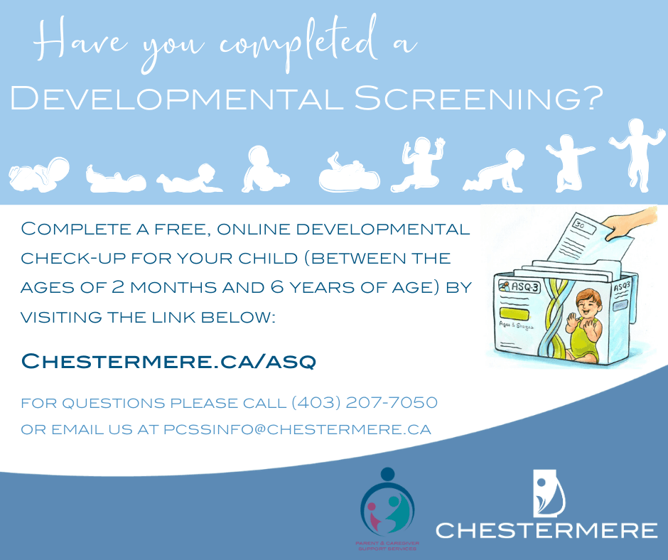 Developmental Screening Mid-Month Post