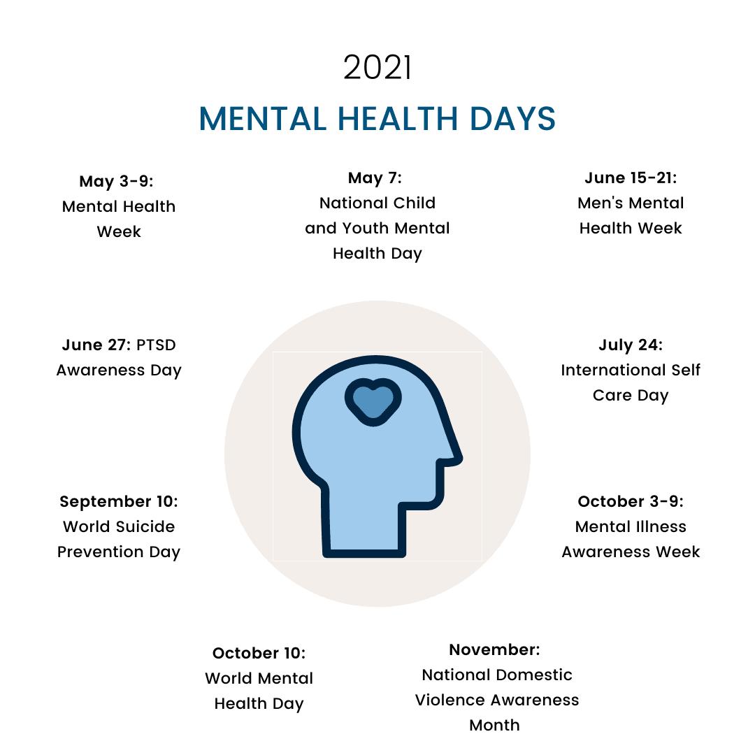 Calendar of Mental Health Resources