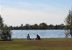 Picnic at Chestermere Lake